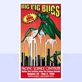 Big Big Bugs Exhibit Poster