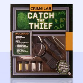 Crime Lab Package and Book Design