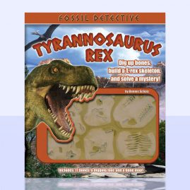Fossil Detective (T. Rex) – Book and Package Design