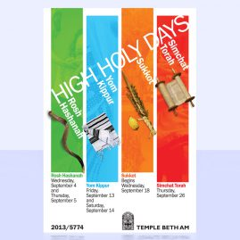 High Holy Day Identity Package