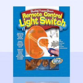 Remote Control Light Switch Package and Book Design