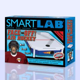 Smart Lab Air Hockey Package and Book Design