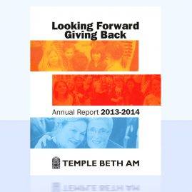Temple Beth Am Annual Report
