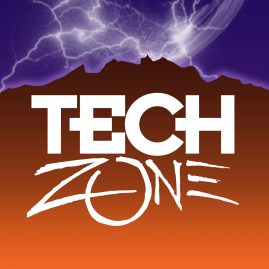 Tech Zone Exhibit Logo